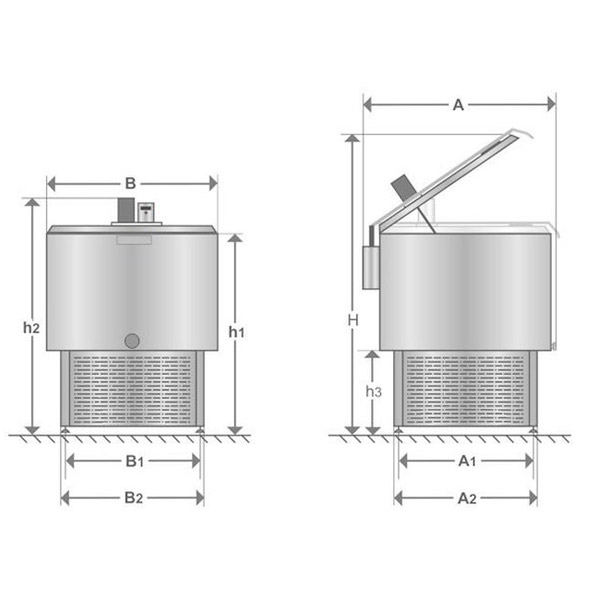 small cooling tank