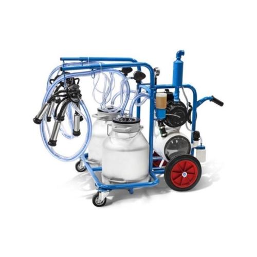 Double-Cluster-Double-Bucket-Milking-Machine